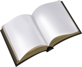 Blank Book Open Book Book Transparent Books