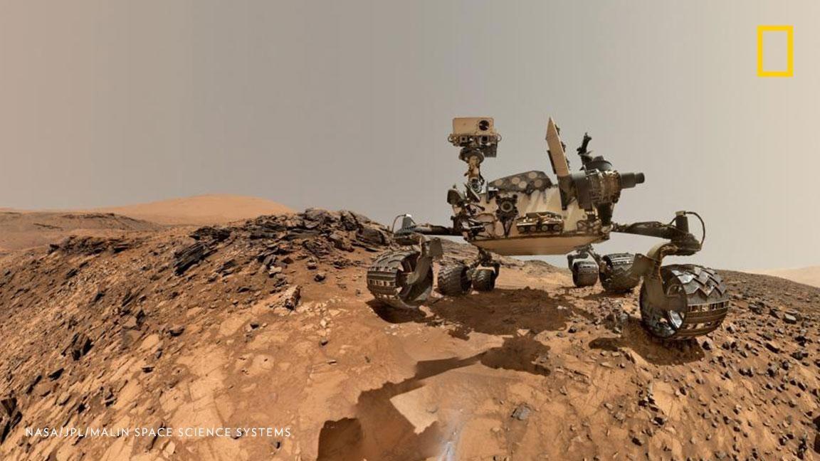 Ein Weltraum - Fahrzeug... Mond - Mars-....