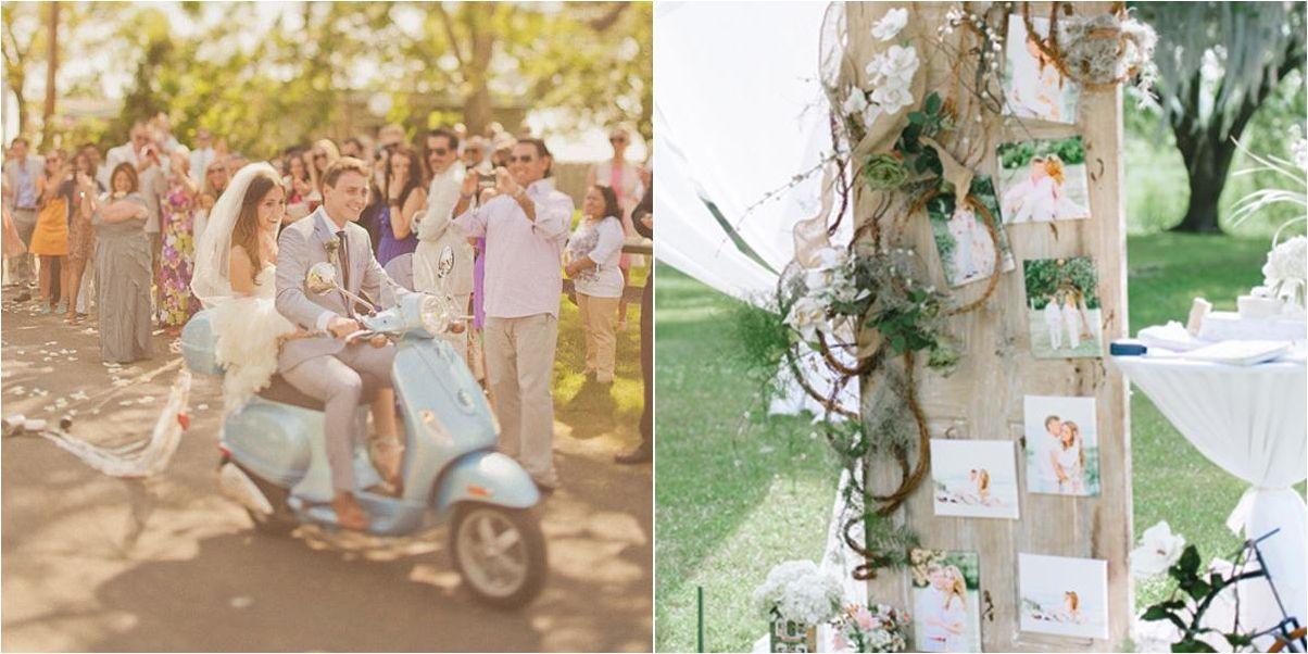 7 detalles para la decoración de bodas vintage   bodas   red