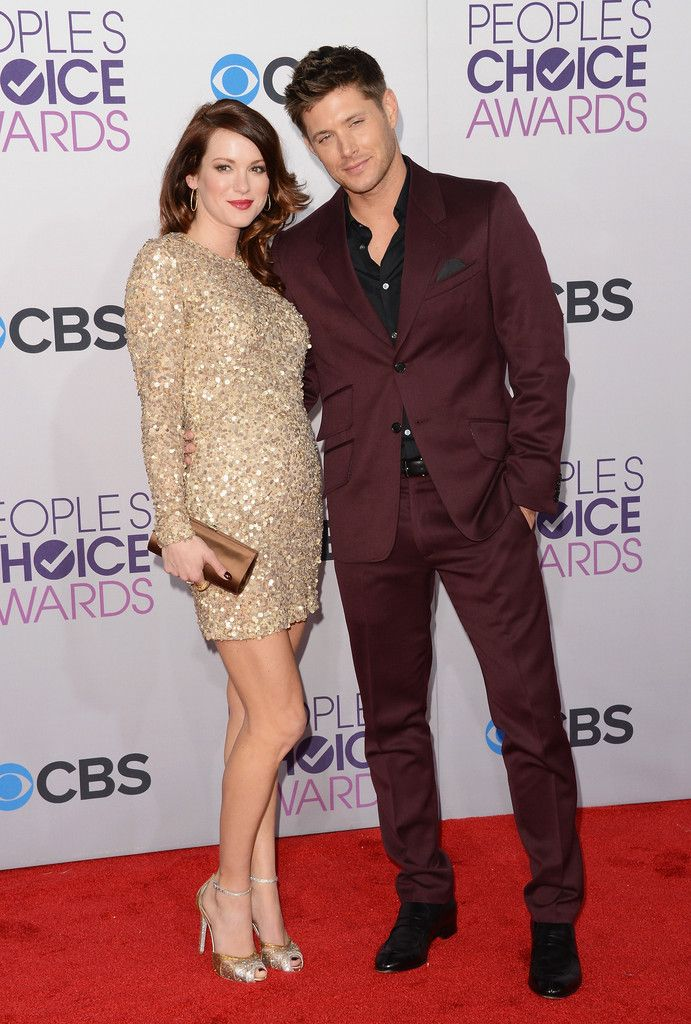 fd5fcfdde1 Actor Daneel Harris and Jensen Ackles attend the 39th Annual People s  Choice Awards at Nokia Theatre L.A. Live on January 9