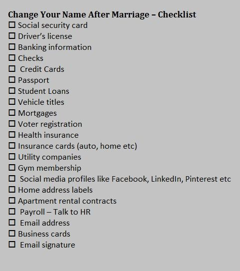 Social Security Change Of Address Best Change Address Checklist