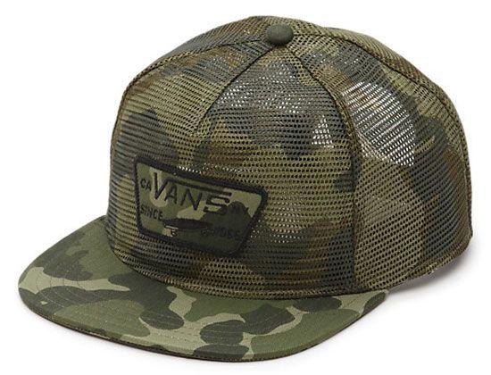 17fc2082266 Thurloe All Mesh Snapback Cap by VANS