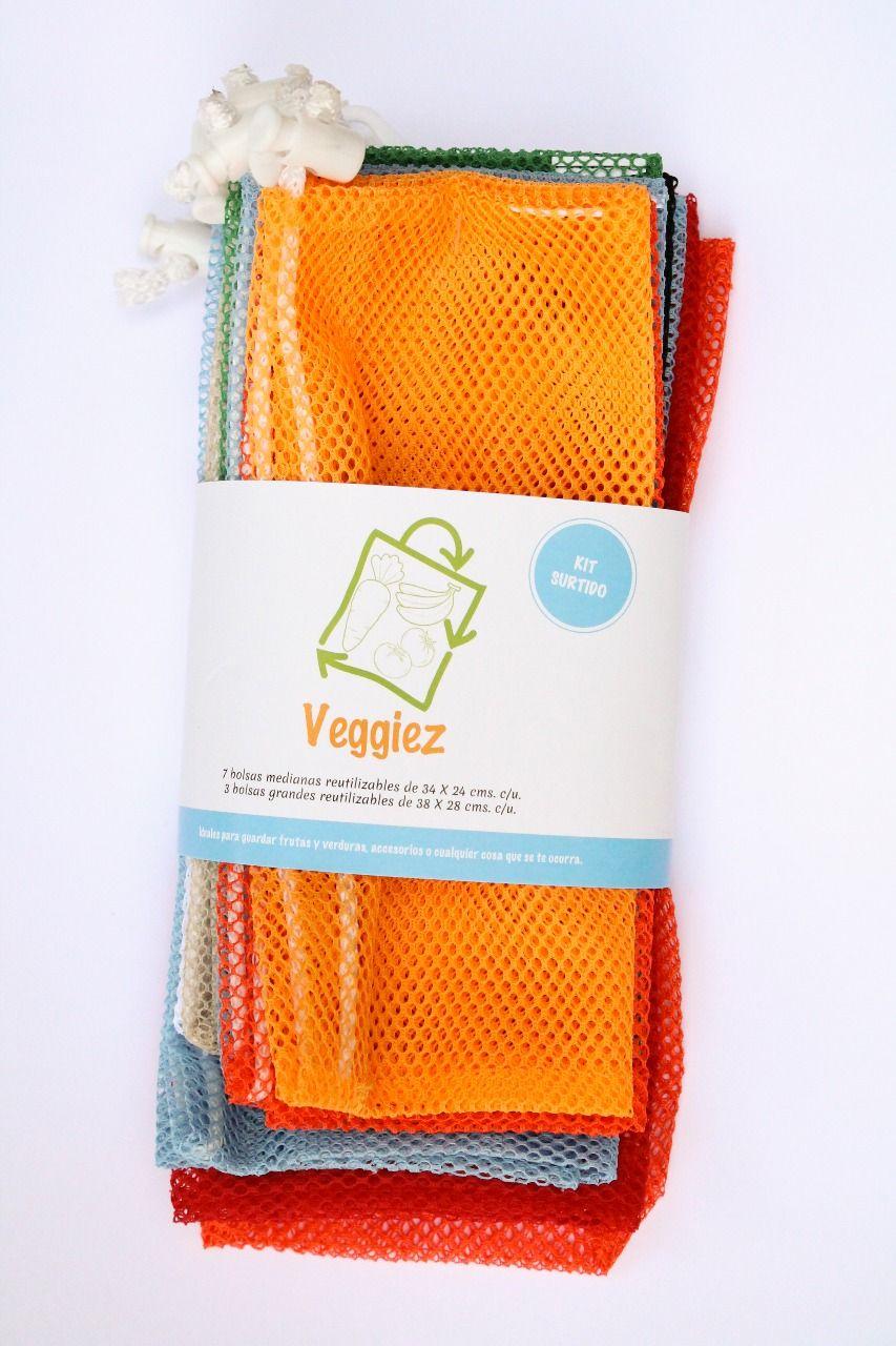 bolsas basura ecologicas de tela para verduras