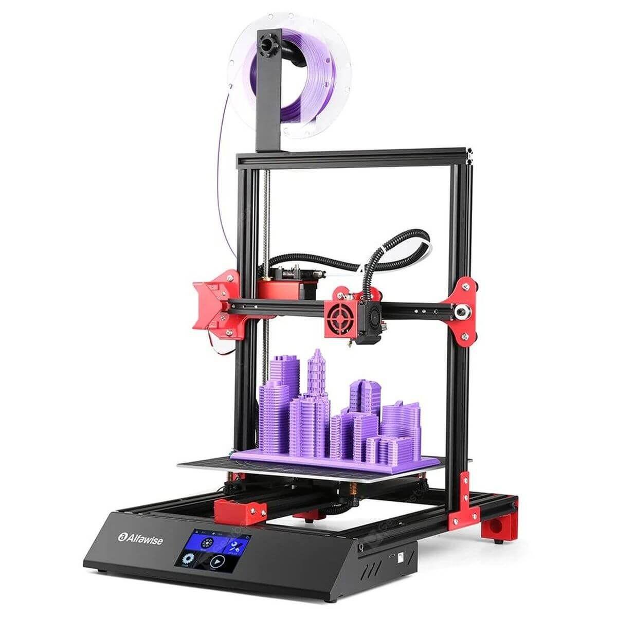 Was bietet der 3DDrucker Alfawise U50 für unter 200 Euro
