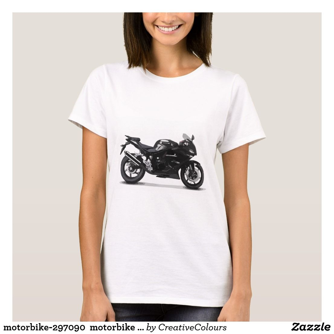 motorbike-297090  motorbike motorcycle bike race r T-Shirt | Zazzle.com