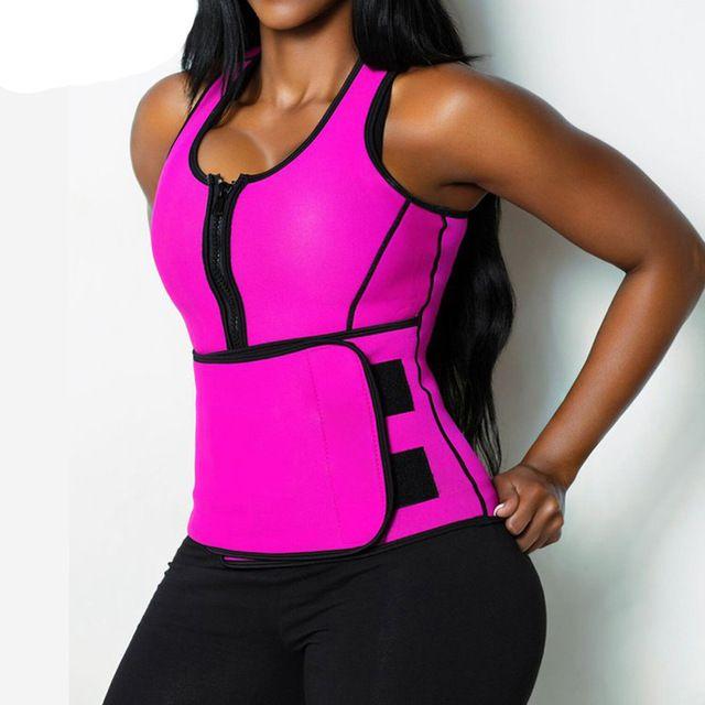 dea7e05ac0 NEW Neoprene Sauna Vest Body Shaper Slimming Waist Trainer Hot Shaper  Fashion Workout Shapewear Adjustable Sweat Belt Corset Who like it   Visit  us