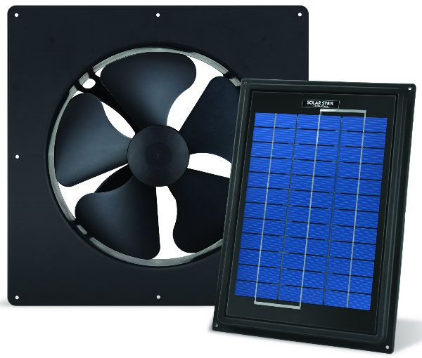 Pv Fan Uses Sun S Heat To Keep You Cool Solar Attic Fan Solar Powered Attic Fan Solar Fan