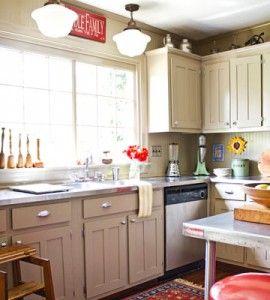 DIY Budget Kitchen Makeover | Country Kitchens | Kitchen ...