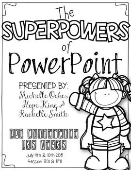 Thursday TT01 & Friday TF11: The Superpowers of PowerPoint
