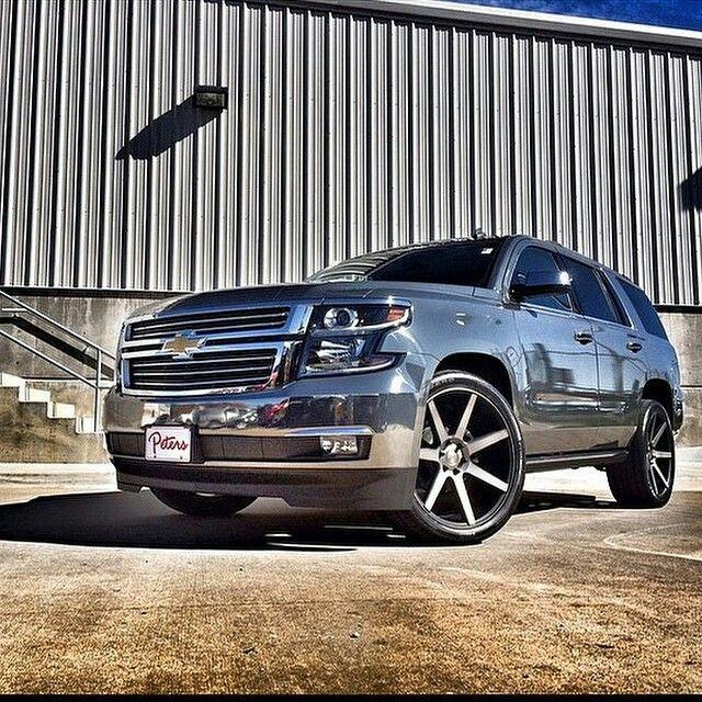 Custom Chevy Tahoe >> Customized Chevy Tahoe Automobile Suv Trucks Chevy