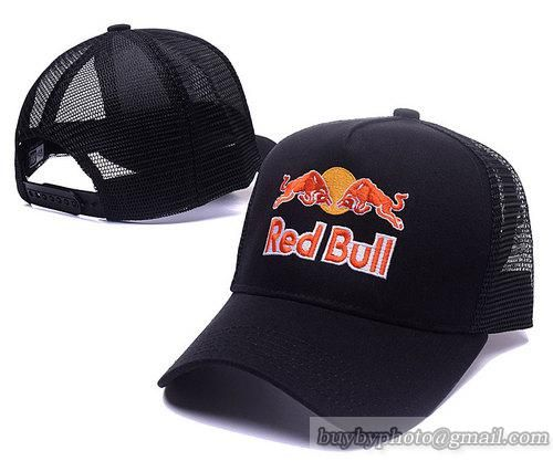 Red Bull Baseball Caps Mesh Hats Red 10f609e0c63