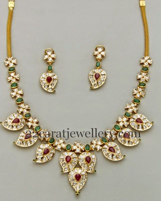 Jewellery Designs: Different Styles Mango Necklace Designs
