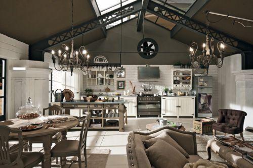 La casa romantica e accogliente di Dialma Brown. | industrial style ...