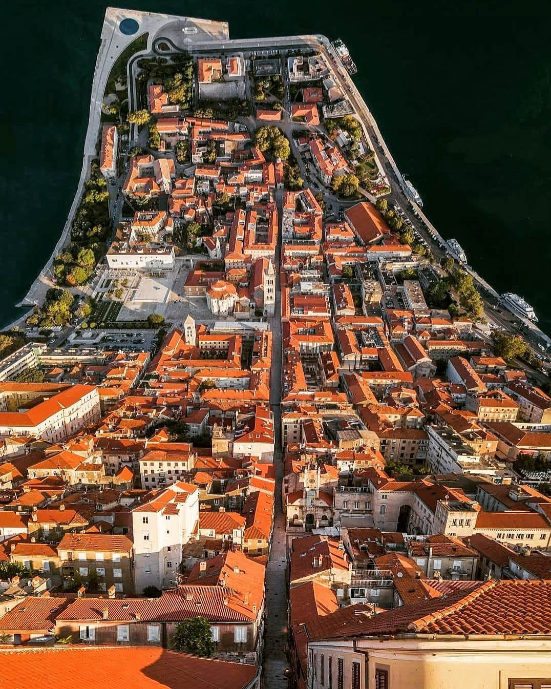Inception Theme On This Picture Of Zadar Croatia Zadar Croatia Holiday Croatia