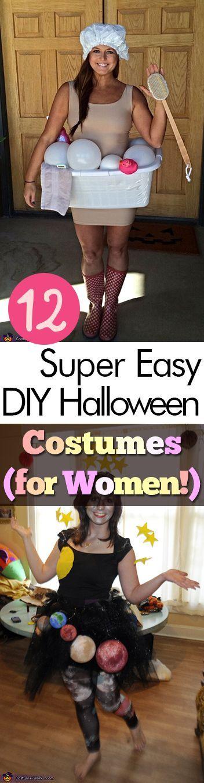 12 Super Easy DIY Halloween Costumes (for Women Halloween