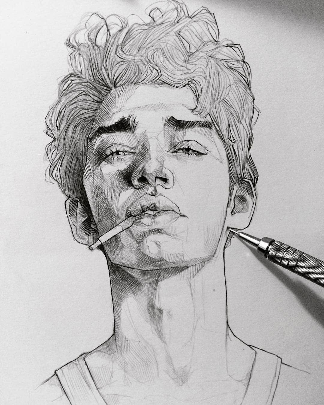 How to drawing how to make an awesome pencil sketch of any photograph pencil pencildrawings drawings artdrawings desenhos zeichnen dessin dibujos