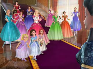 Leapfrog App Center Barbie 12 Dancing Princesses Barbie 12