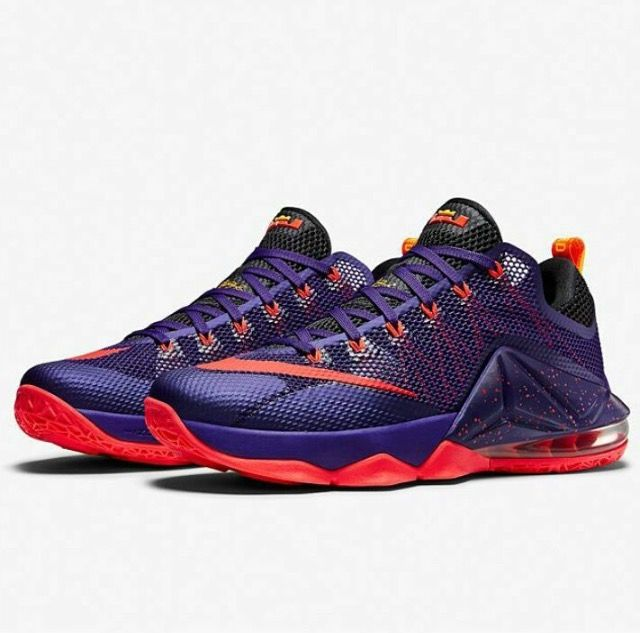 info for b42f0 9cd7a The Nike LeBron 12 Low Court Purple, Bright Crimson, Cave Purple, Laser  Orange release date is set for early August Find out its exact release date.