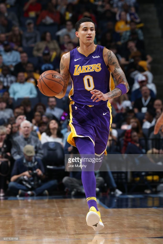 News Photo Kyle Kuzma Of The Los Angeles Lakers Handles The Kyle Kuzma Basketball Skills Basketball Plays