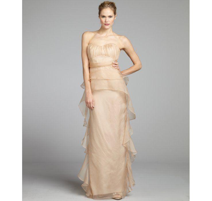 Silk Chiffon, Dresses, Gowns