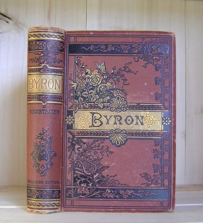 RESERVED Listing - Buyer Waiting Antique Book 1880s Poetical Works ...