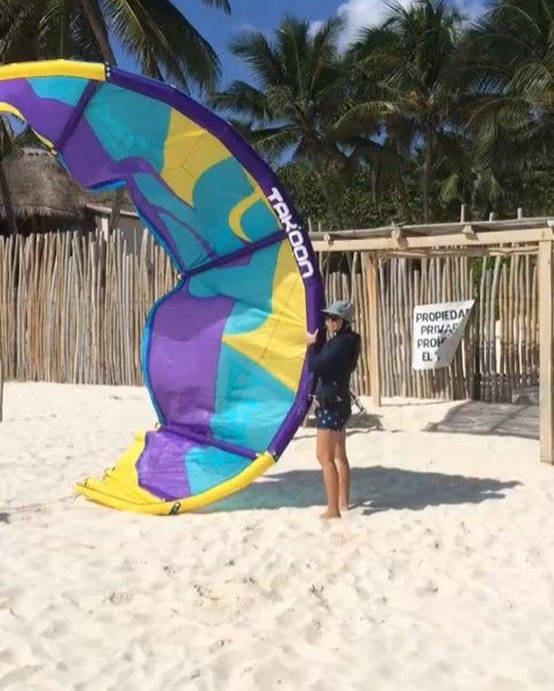 From mexicancaribbeankitesurfThis morning at the school... Wind, sun and clients learning kitesurfing :) .  #mexicancaribbeankitesurf #kite #kitesurfing #kiteboarding #kitetulum #kitemexico #kiteschool #kiteboardingtulum #kitesurfingtulum #kitesurftulum #kitecentertulum #watersports #kiteeverydamnday #tulum #ahautulum #takoon…