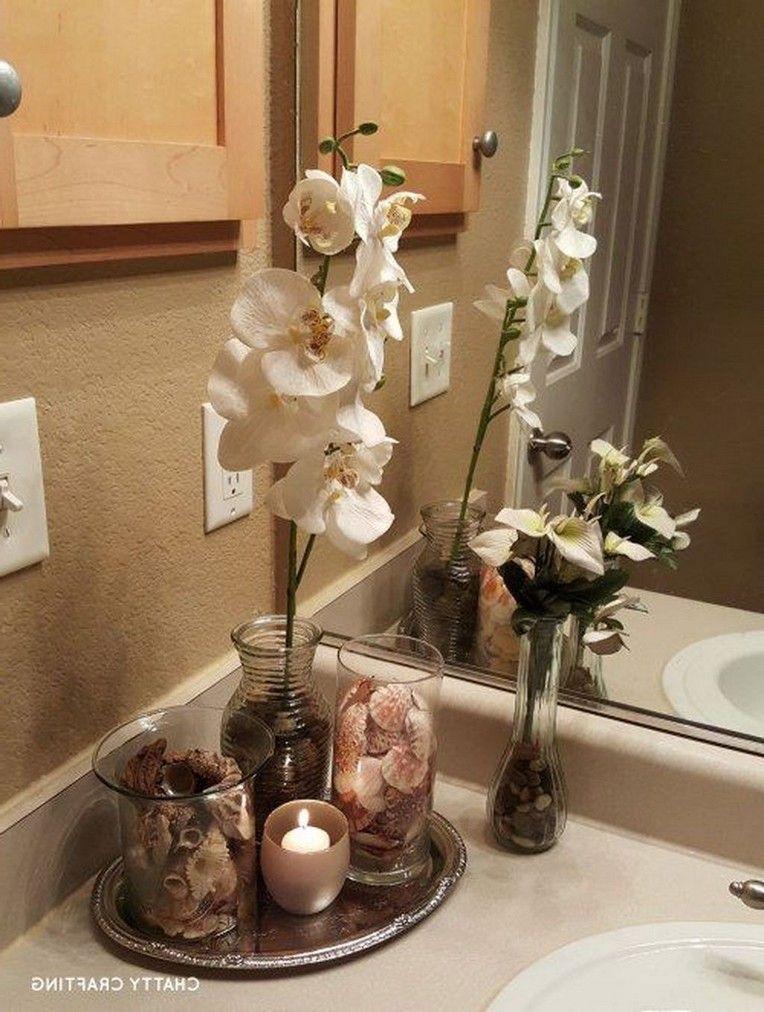 30 Amazing Spa Bathroom Decorating Ideas Bathroom Decor Beach Theme Bathroom Restroom Decor