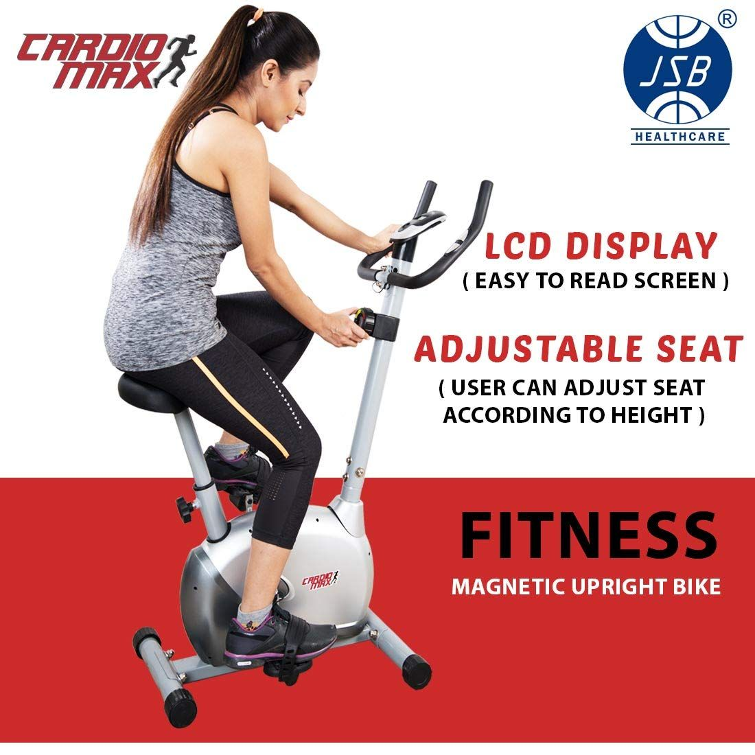 Valentineoffer Cardio Amazonsale Airbike Spinningbike Exercisecycle Fitindia Stepper Fitness Energiefitness F In 2020 Biking Workout Cycling Workout Fitness