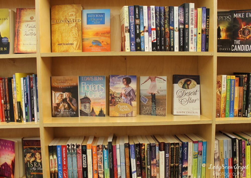 Used Bookstore Christian Fiction Libros