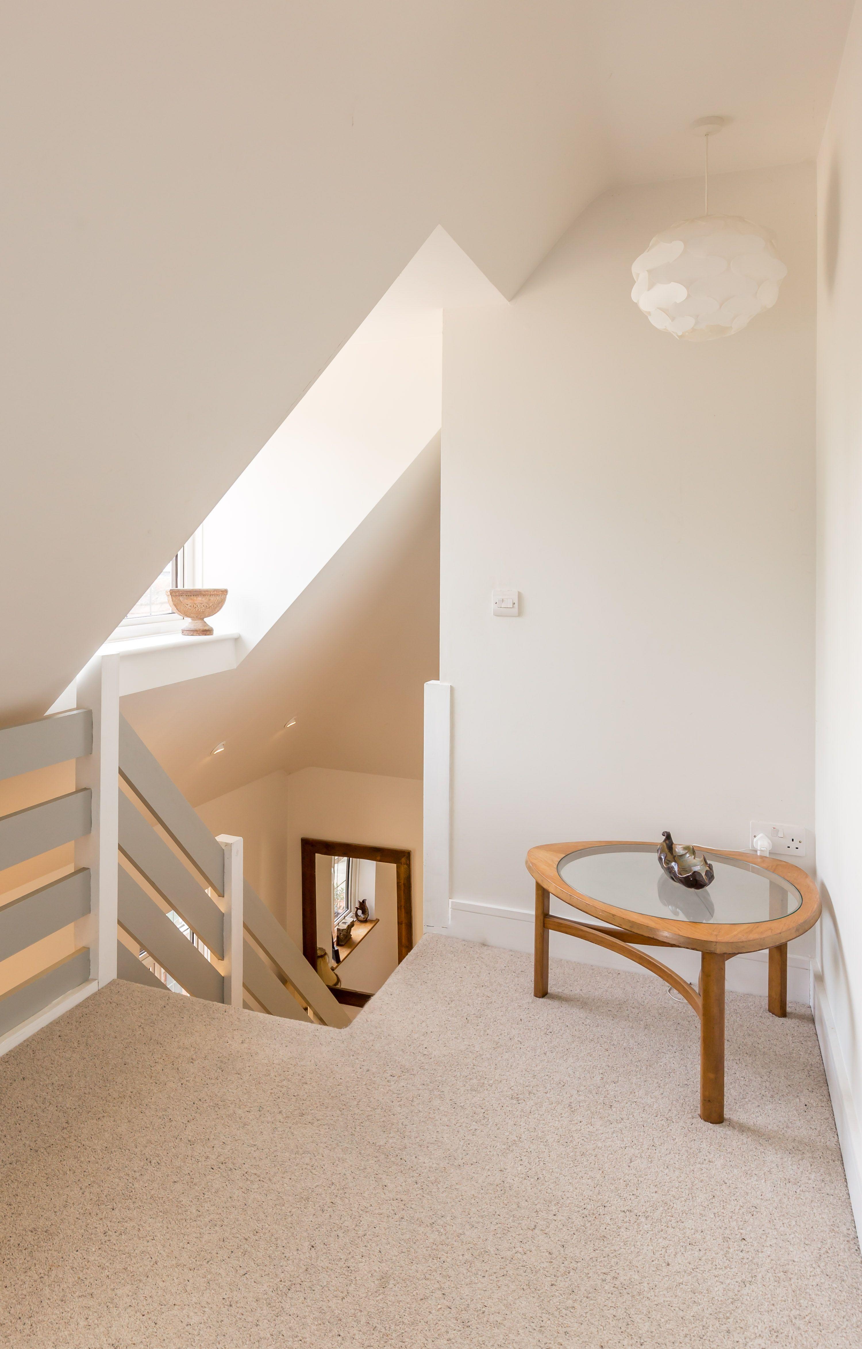 Loft conversion | gallery landing | circulation | sloped ...