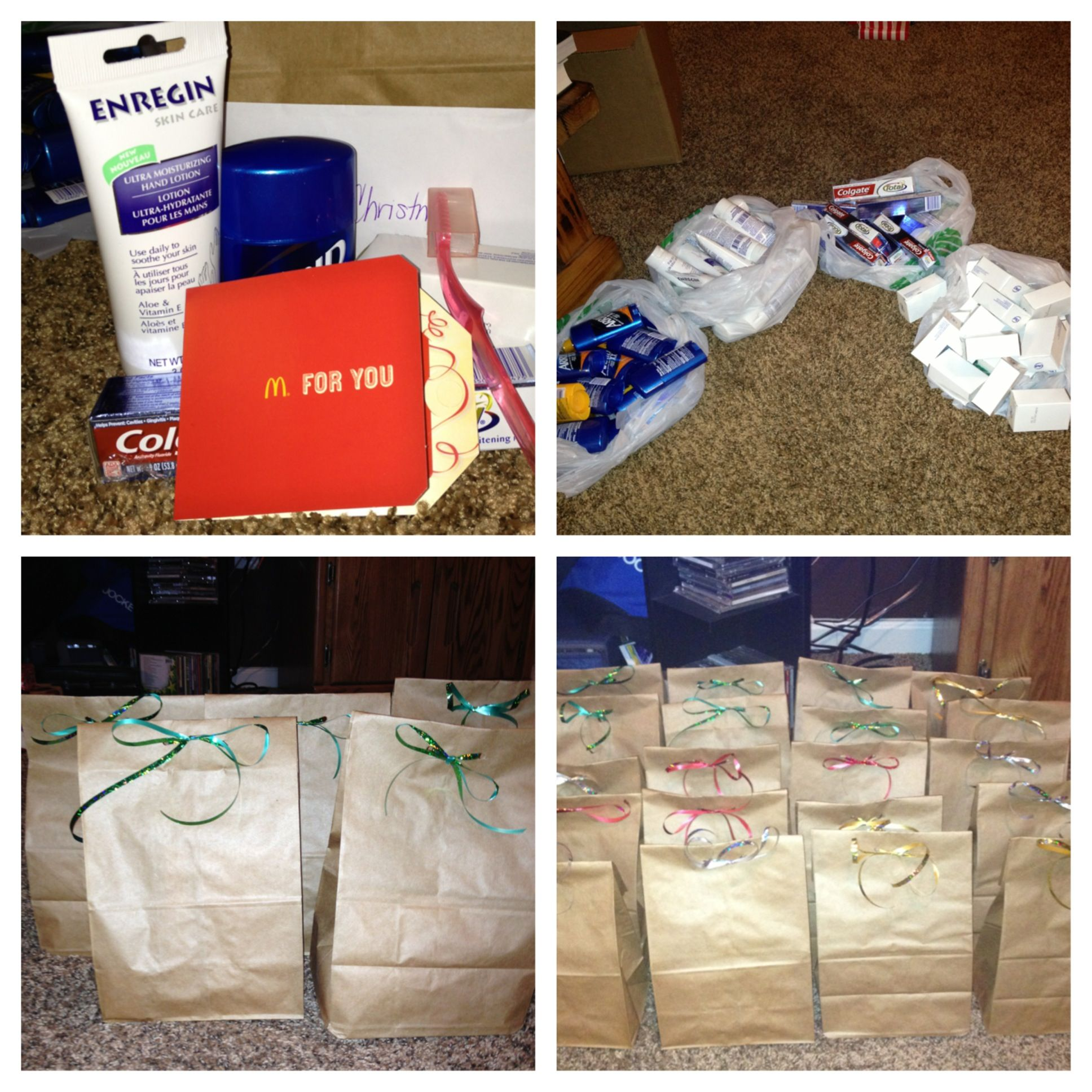 Heres A Homeless Care Package Done For The Christmas Holiday Had