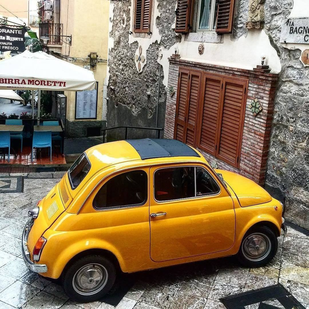 Car spotting in Taormina Sicily Shot by a11ftk Tag your