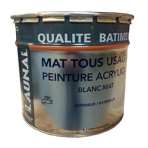 LAUNAL Peinture Acrylique Mat Tous Usages pas cher en ligne | Peinture acrylique, Peinture ...