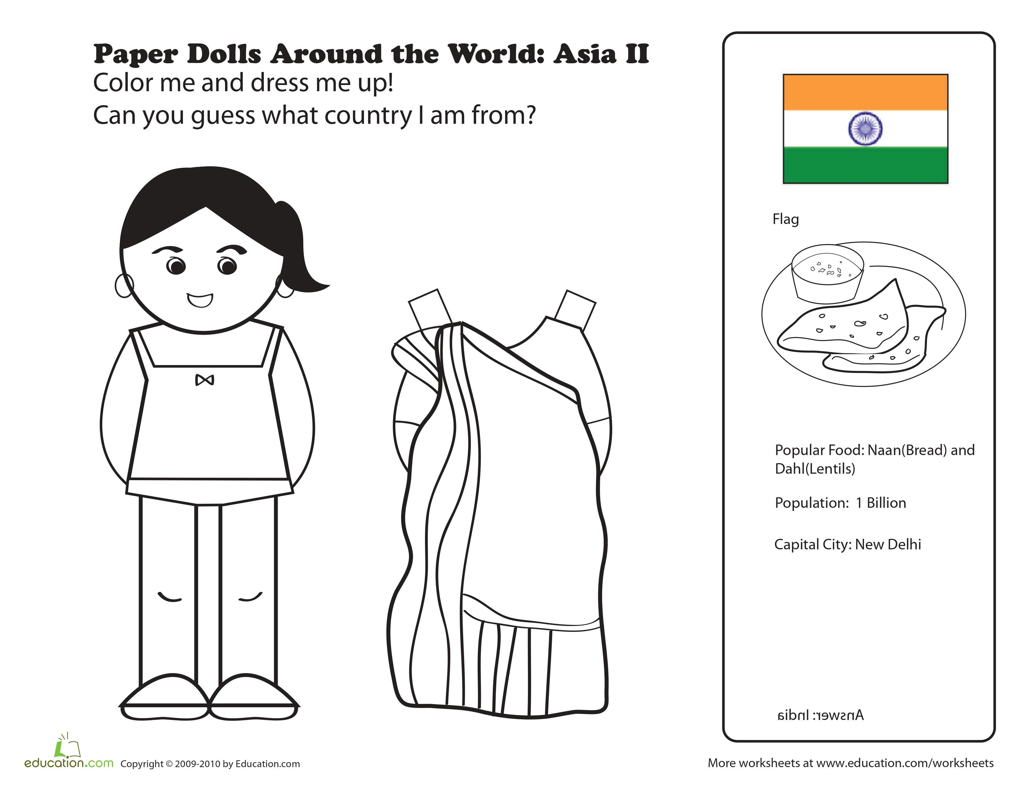 medium resolution of Pin by amy on LA INDIA   Paper dolls