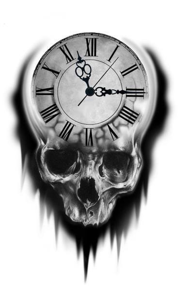 Uhr tattoovorlage 50 einzigartige