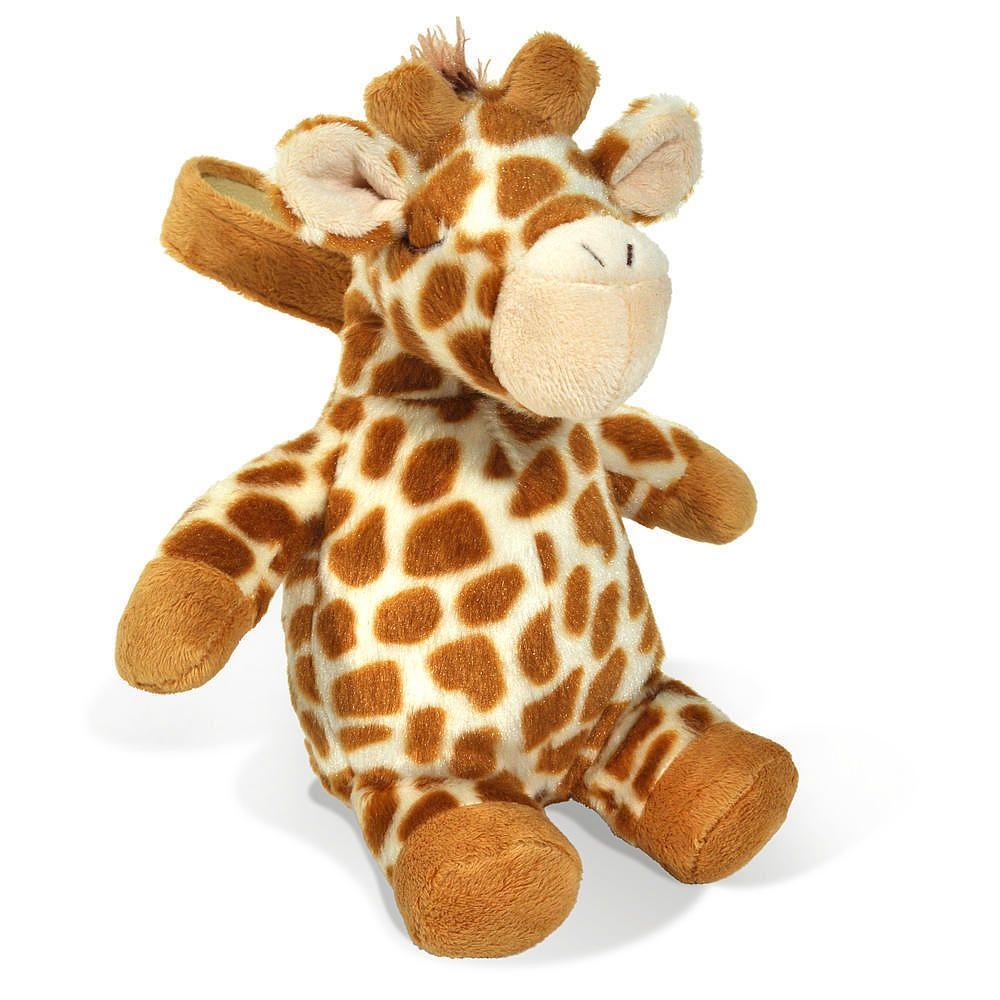 The Cloud B On the Go Travel Size Plush Sound Machine Giraffe has ...