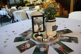 Image Result For Table Decorations 70th Birthday Party