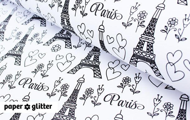 printable wrapping paper paris research printable wrapping paper paper crafts scrapbook. Black Bedroom Furniture Sets. Home Design Ideas