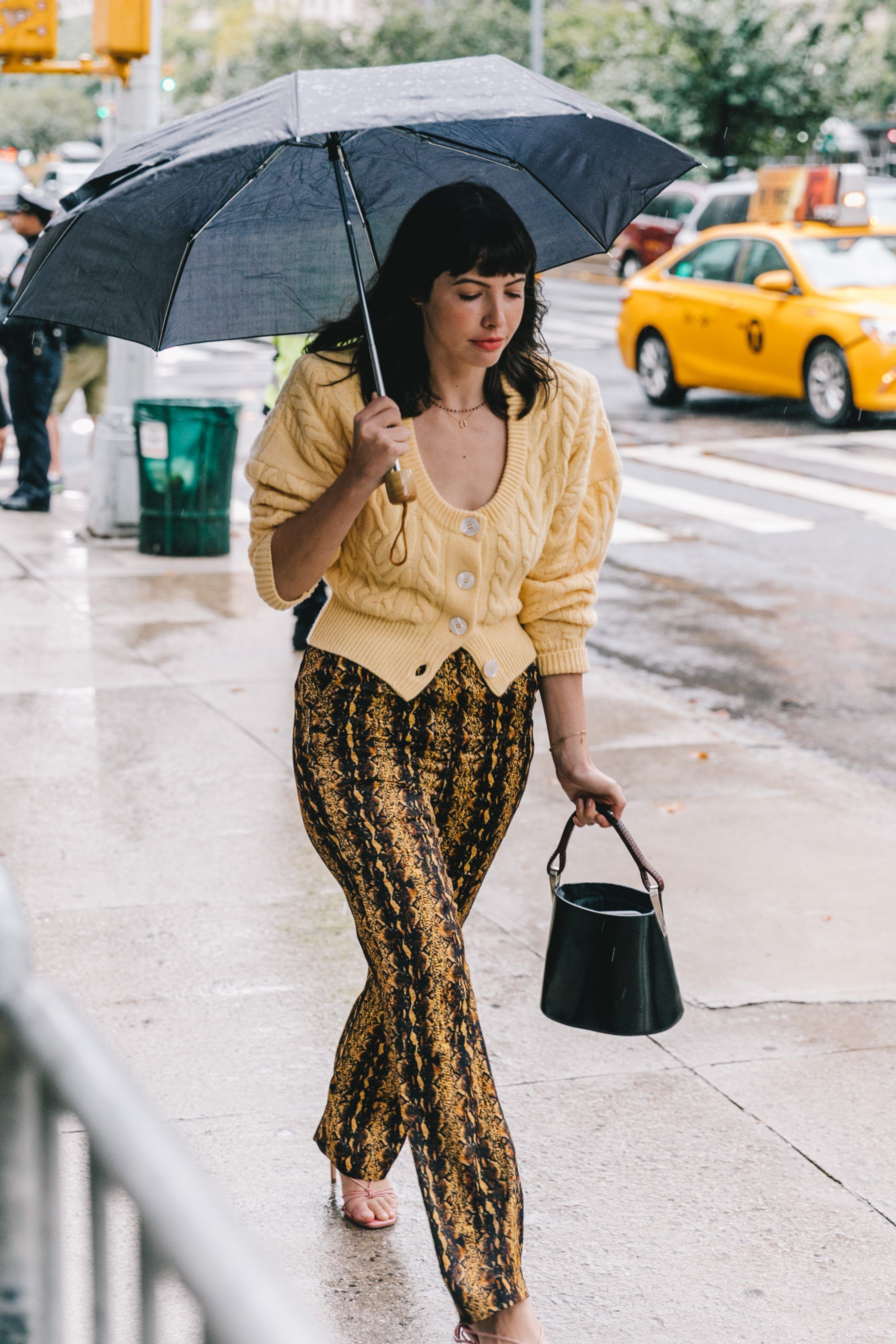 1b46c133ede9 Spring Summer 2019 Street Style from New York Fashion Week by Collage  Vintage