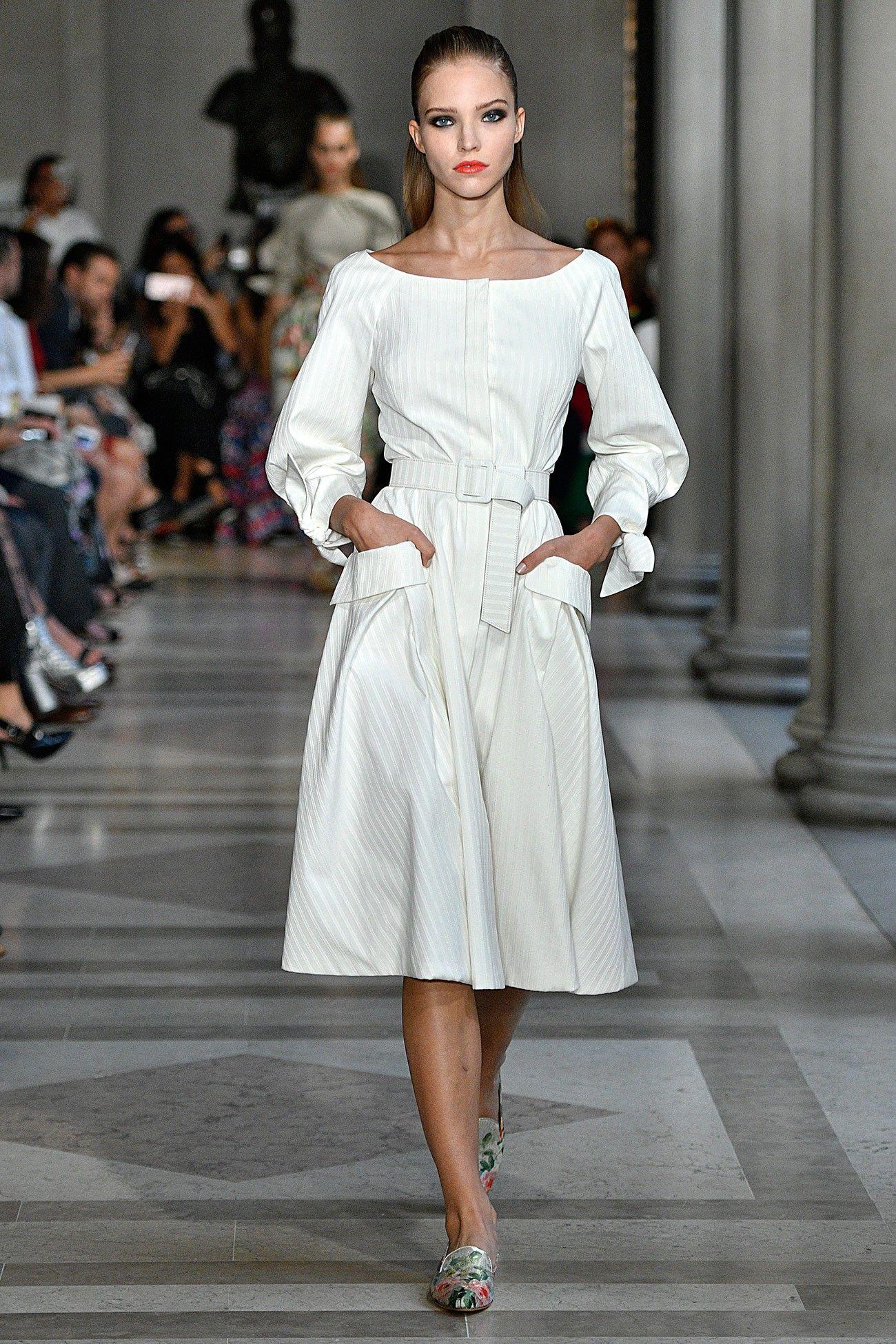 Carolina Herrera New York Spring 2017 Runway Fashion