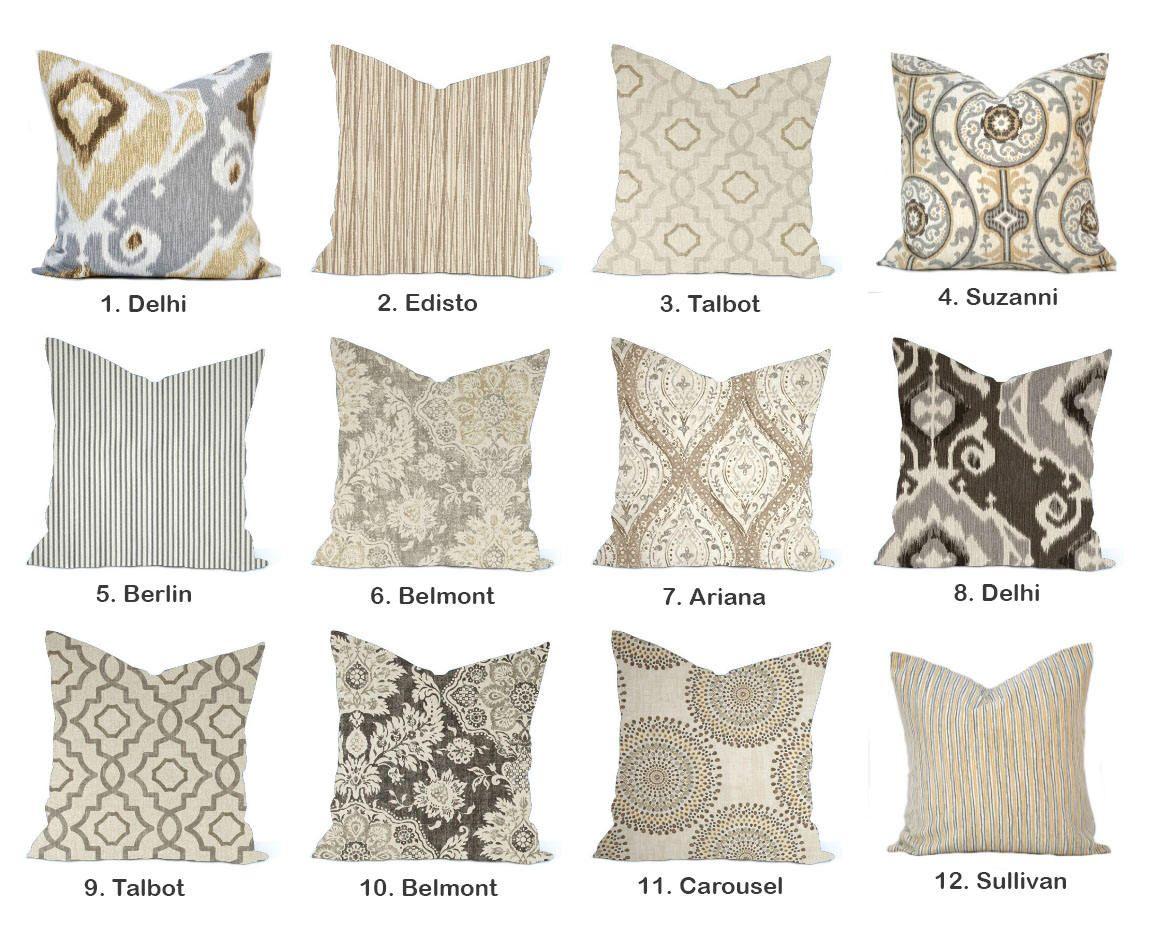 One high quality magnolia home decor cover tan pillow decorative
