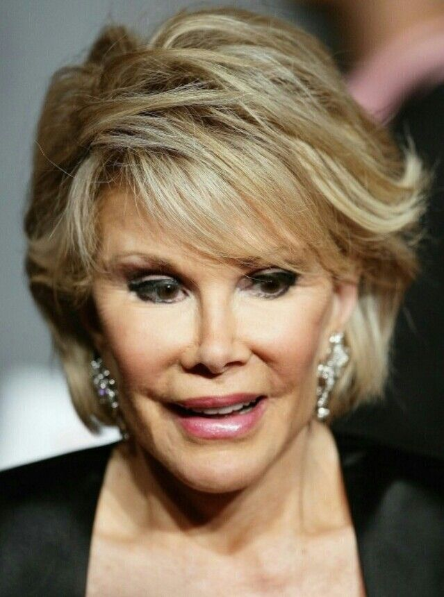 Pin By Sharon Collins On Joan Rivers Hairdo Hair Styles Hair Beauty