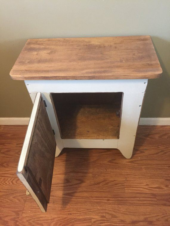Outstanding Primitive End Table Or Night Stand Storage Table End Forskolin Free Trial Chair Design Images Forskolin Free Trialorg