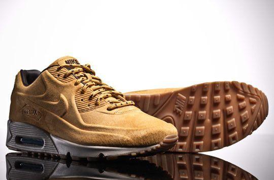2013 Nike Air Max 90 VT Premium QS Wheat Pack Brown 36 46
