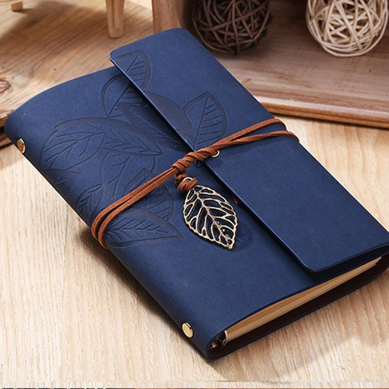 Mini Pocket Notebook Journal Diary Book PU Leather Cover Note Pads Hot