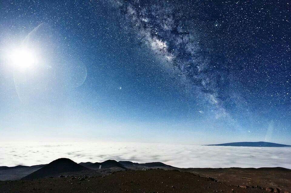 Milky way from Mauna Kea, Hawaii Earth pictures, Milky