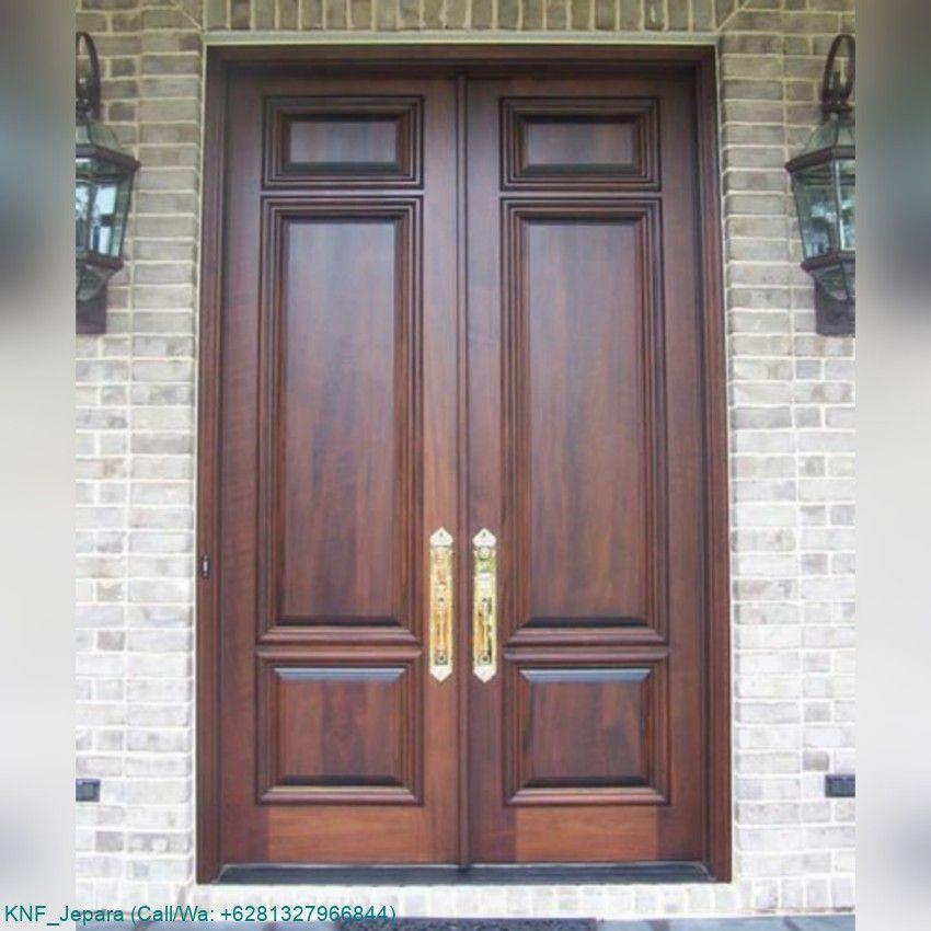 Photo of Minimalist House Door Kupu Tarung   Kartanegara Furniture- Pintu Rumah Minimalis…