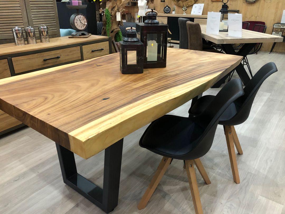 Table A La Grange Nordik En 2020 Meuble Deco Mobilier De Salon Magasin Meuble