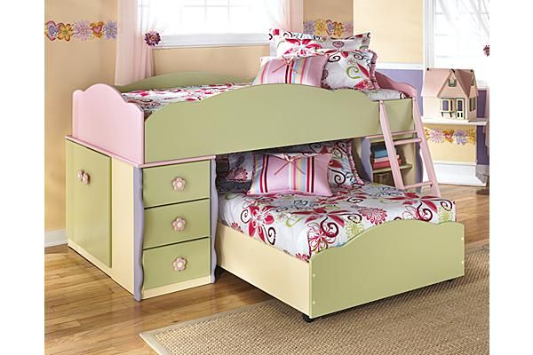 Ashley Furniture This Saves Space And Makes Little Girls Rooms