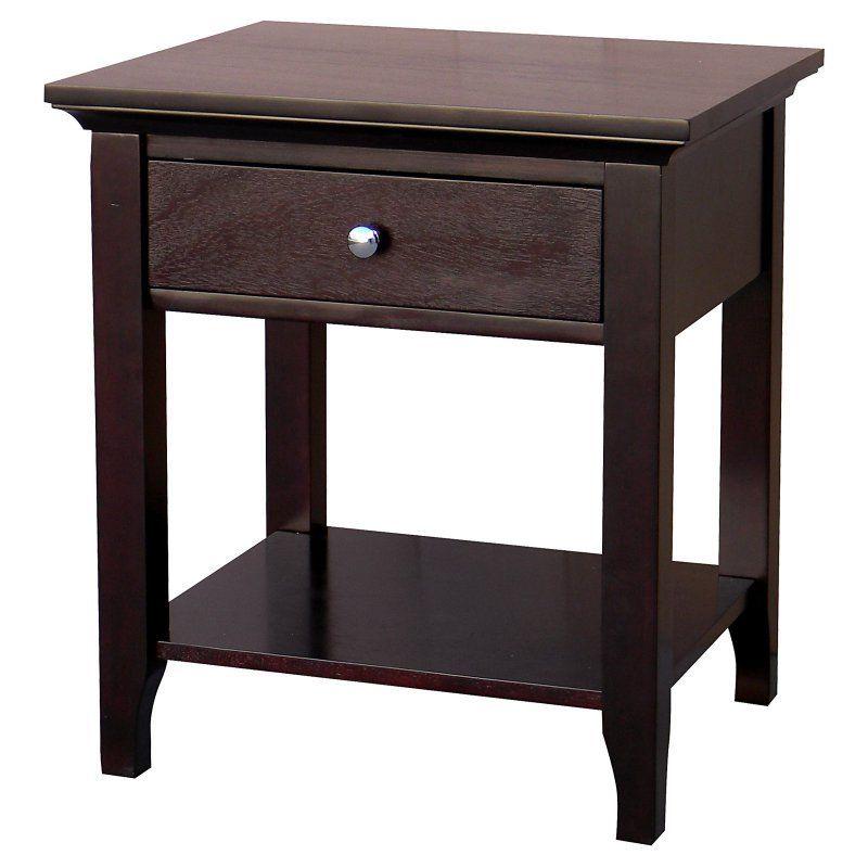 Donnieann Ferndale Rectangular Espresso End Table 352488 End Tables Espresso End Table Sofa End Tables